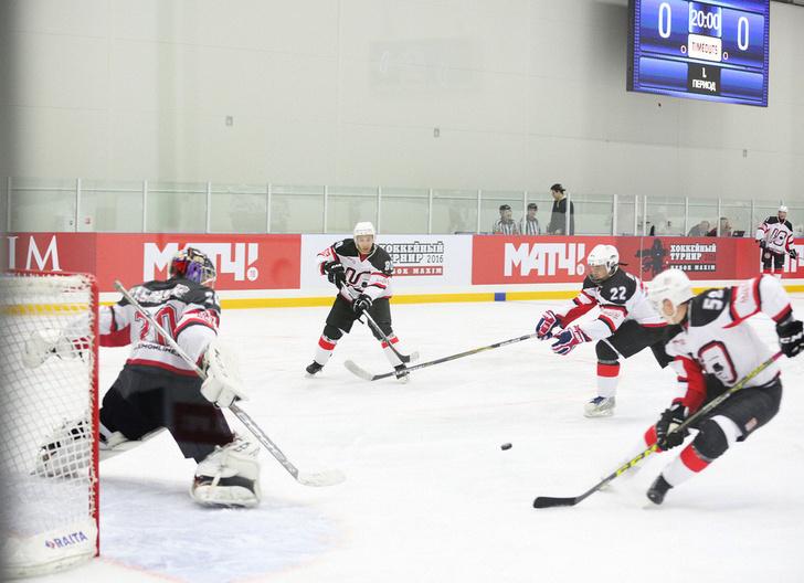 Фото №1 - Состоялся шестой ежегодный хоккейный турнир на Кубок MAXIM