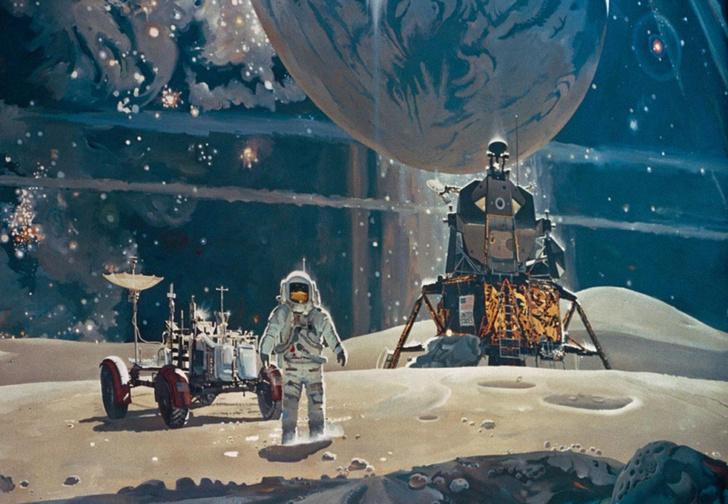 Фото №1 - «Роскосмос» собрался покорить Луну, а русский миллиардер замахнулся на полет к Альфа Центавра!