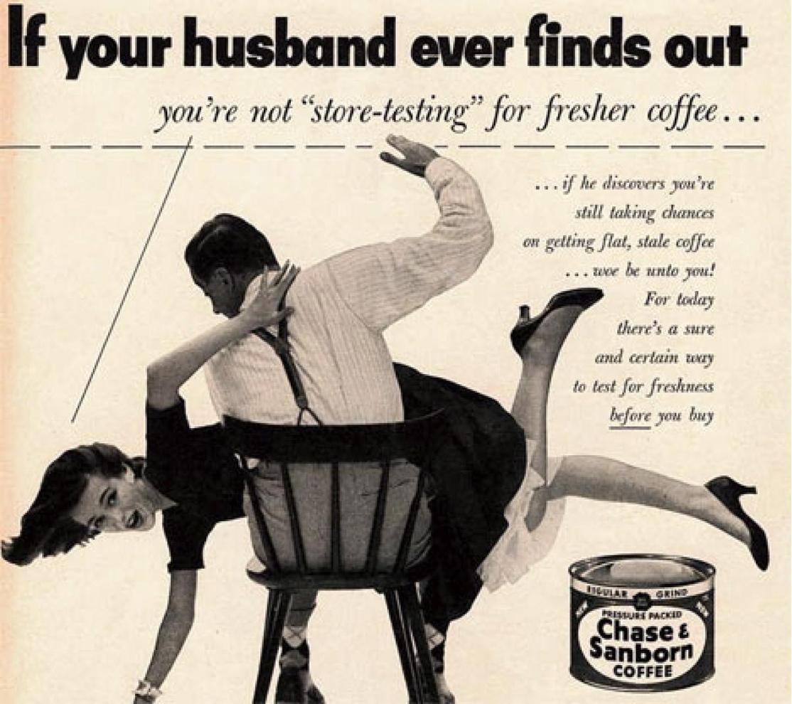 Реклама кофе Chase & Sanborn
