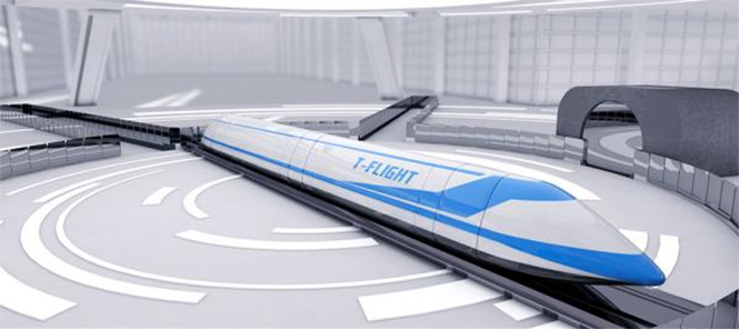 Фото №1 - Китайцы готовятся разогнать поезда до 4000 км/ч. Четырех тысяч!