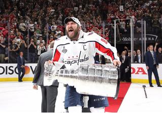 Правда, что Овечкин назовет своего ребенка Стэнли? Александр стал чемпионом НХЛ и показал беременную жену
