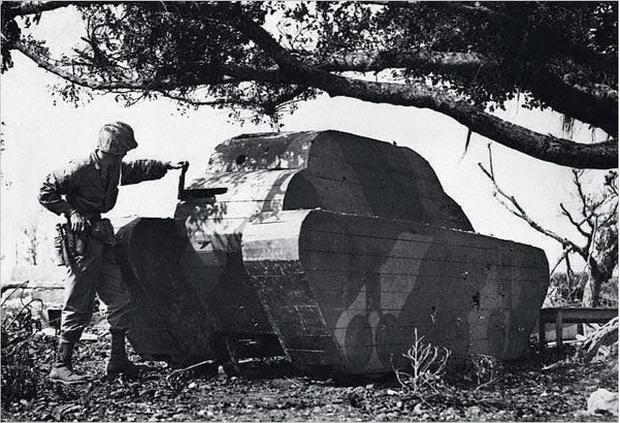 Фото №12 - Бесславные ублюдки: самые уродливые танки, созданные за всю историю вооружений