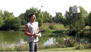 Как поймать рыбу, если нет удочки, но есть дрон