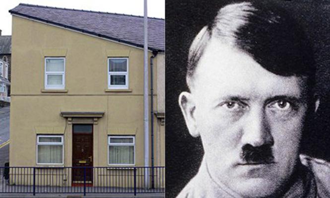 Дом, похожий на Гитлера
