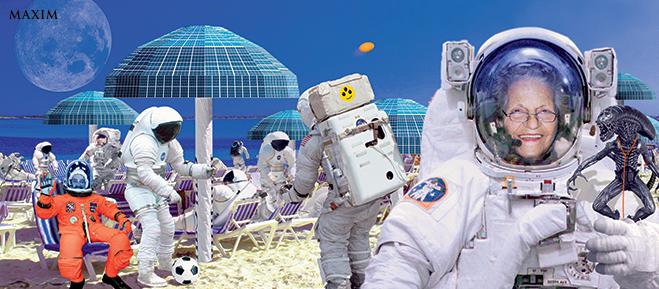 Фото №4 - Если бы мы летали в отпуск на другие планеты