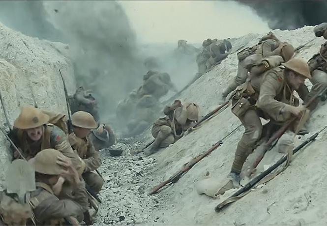 Фото №1 - Трейлер фильма «1917» о Первой мировой войне от маэстро Сэма Мендеса (на русском)