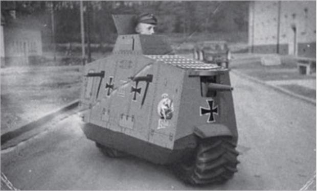 Фото №19 - Бесславные ублюдки: самые уродливые танки, созданные за всю историю вооружений