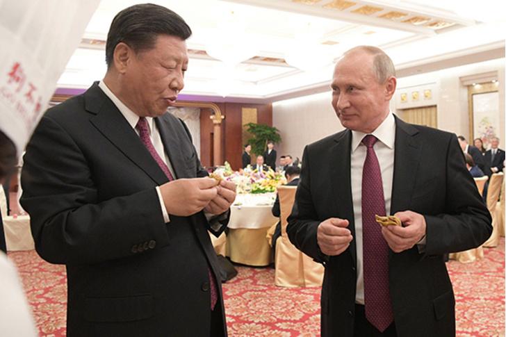 Фото №1 - Нет, Путин не ел пирожок с собачьим мясом в Китае