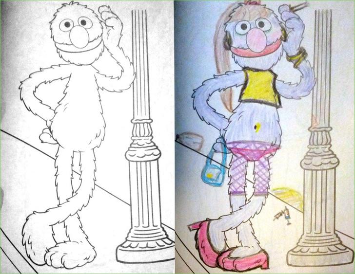 Фото №15 - Я безбожник, я так вижу: Когда детская раскраска превращается в запрещенную литературу