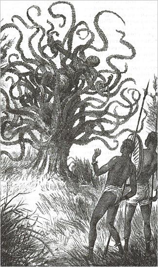 Дерево-людоед