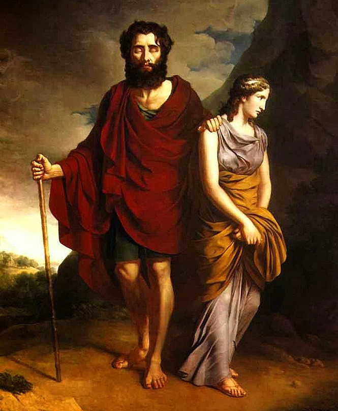 comparison between the views of oedipus and queen iocaste in oedipus rex a play by sophocles The play focuses on the life of oedipus, king of thebes, and the what is the theme of oedipus rex a: queen jocasta was initially married to king laius.