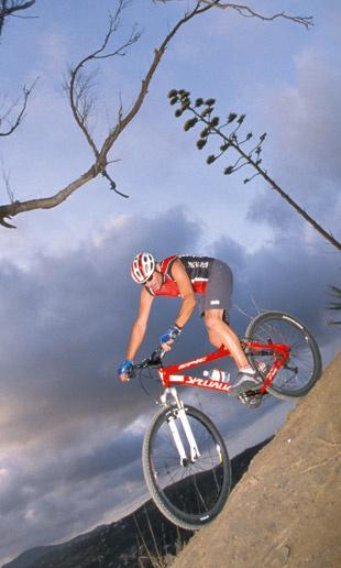 Скатиться на велосипеде схолма, на который ты долго и мучительно поднимался.