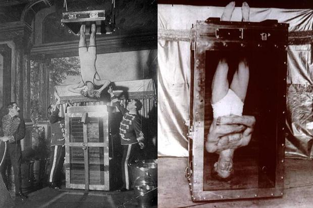 Фото №6 - 5 знаменитых фокусов Гарри Гудини, секрет которых удалось раскрыть