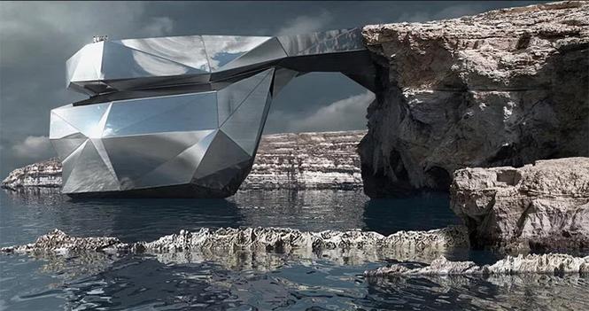 Фото №2 - Российский архитектор собрался построить заново скалу