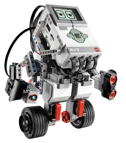 Конструктор-робот, зарядка в