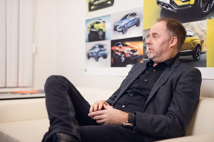 Фото №11 - Главный дизайнер Lada Стив Маттин отвечает на вопросы MAXIM!