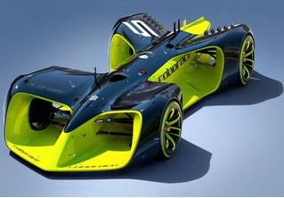 Ядро с болтами: Roborace — первый в мире гибрид робота и гоночного автомобиля