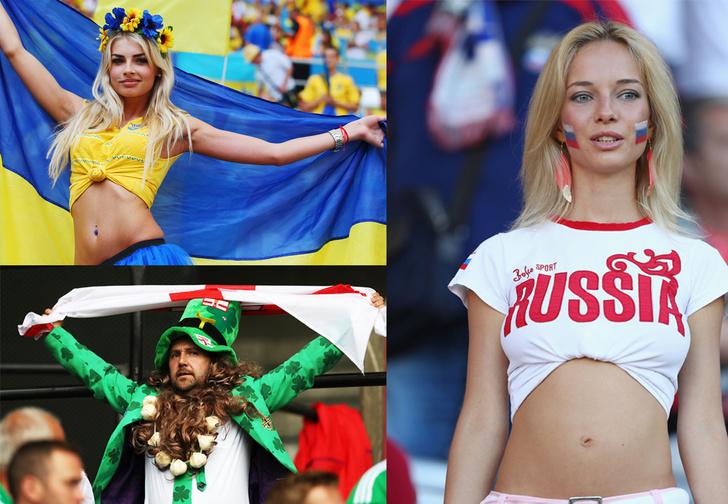 Фото №1 - Слепой испанец, бешеные ирландцы и Дед Мороз. Почему фанаты на Евро-2016 — это не только драки