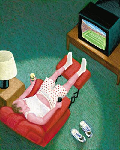 Фото №1 - Как заработать, сидя перед телевизором