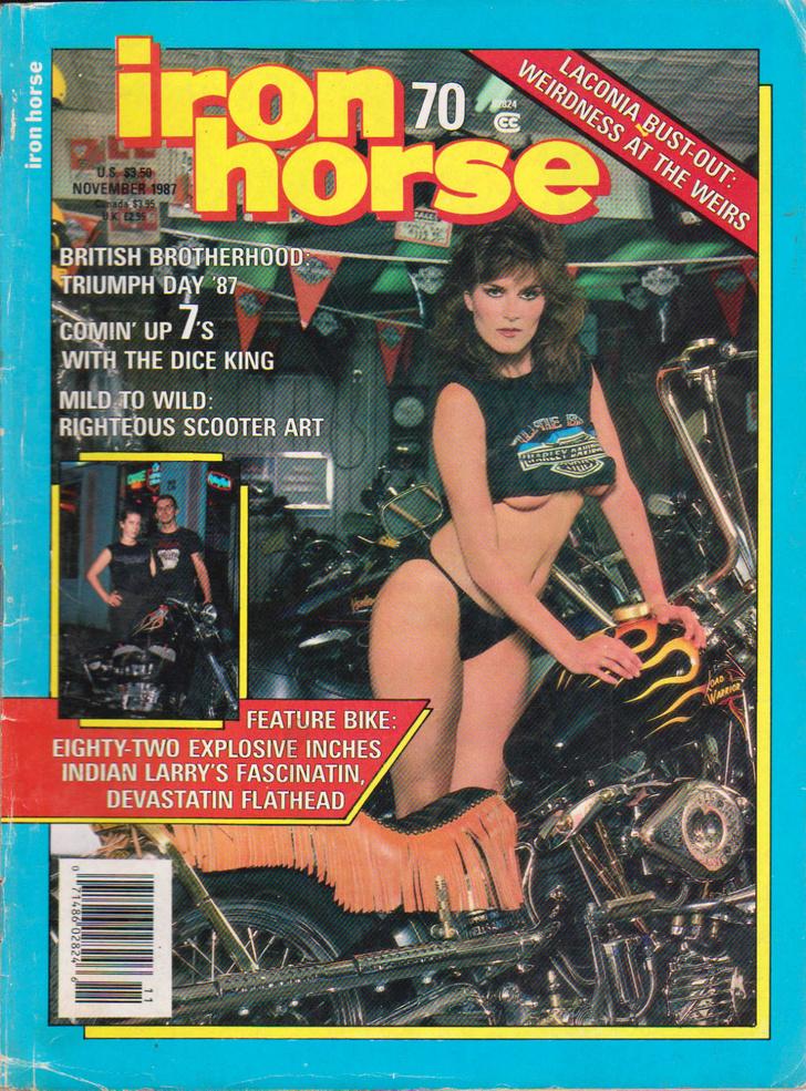 Фото №21 - Сексуальные девушки байкеров из 1980-х!