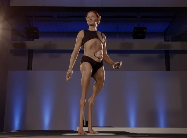 Фото №2 - Ученые создали идеальную женщину!  При виде нее ты поседеешь от восторга! ВИДЕО