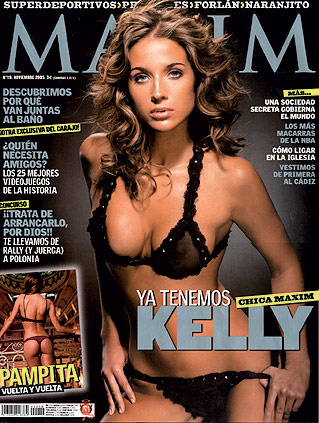 Келли Стил для Maxim
