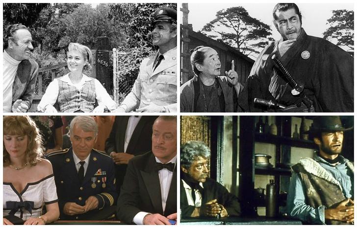 Фото №1 - 10 классических фильмов, которые на самом деле ремейки