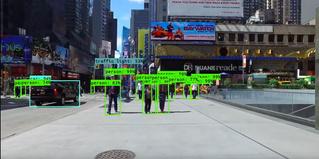 Искусственный интеллект наблюдает за людишками (ВИДЕО)