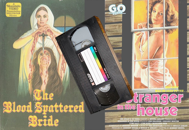 Фото №1 - Страшная ностальгия: обложки видеокассет хорроров