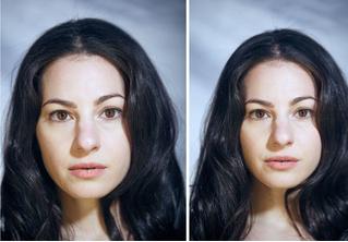 Вот как выглядят лица тех, кто позирует без одежды и в ней: 18 пар фото для сравнения