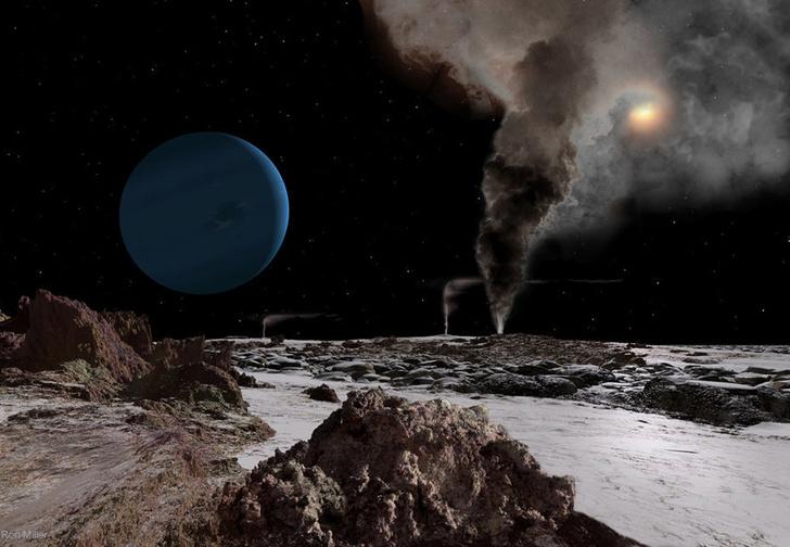 Фото №1 - Как выглядит Солнце с каждой из планет Солнечной системы (галерея)