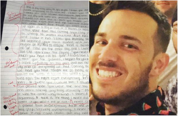 Фото №1 - Парень вывесил в «Твиттере» письмо своей бывшей девушки, и его отчислили из университета!
