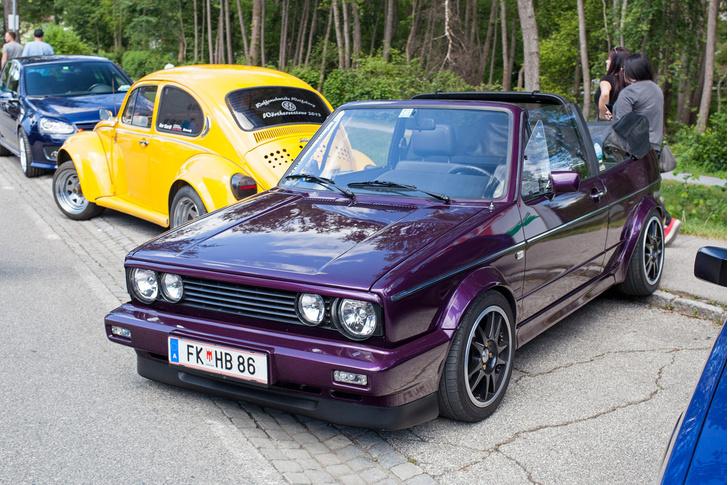 Фото №8 - Самые безумные машины фестиваля GTI Treffen