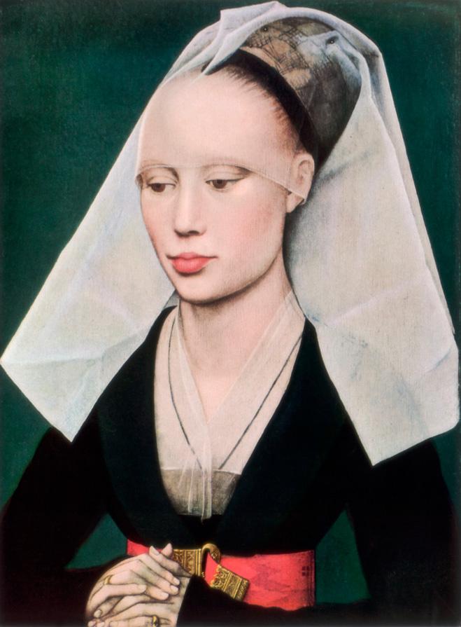 «Портрет дамы» Рогира ван дер Вейдена