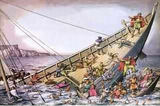 Жуткая история «Титаника» XII века!