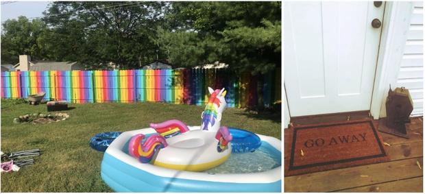 Фото №2 - Твит дня: девушка показала свой дом и дом своей сестры, и они максимально разные