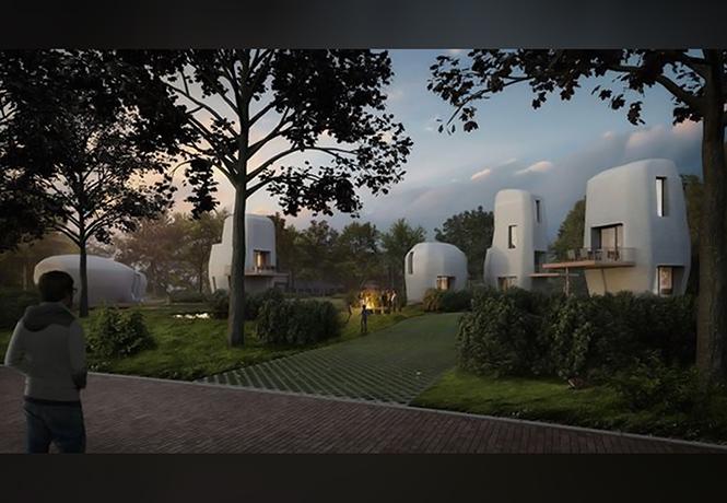Фото №1 - Как будеть выглядеть первый в мире 3D-отель? Как деревня в соседней Галактике!