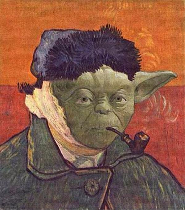 Фото №6 - 13 фотожаб, вдохновленных Ван Гогом