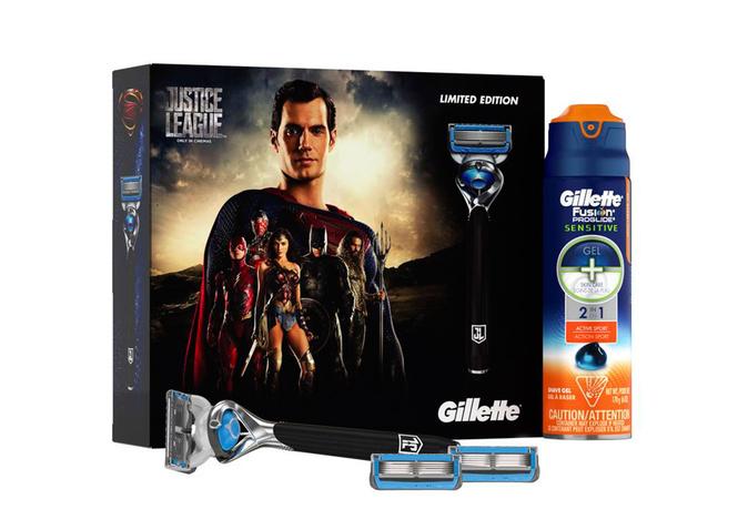 Gillette Fusion Proshield Chill «Лига справедливости