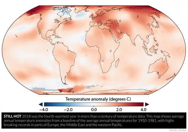 Фото №2 - 2018 год попал в список самых жарких в истории — вместе с 2015, 2016 и 2017-м