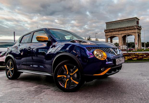 Фото №1 - Nissan Juke: цвет правит