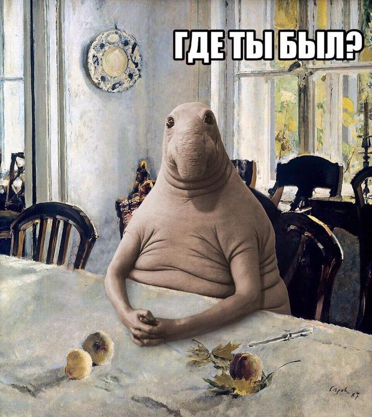 Фото №15 - Все лучшие фотожабы со Ждуном в одной подборке!