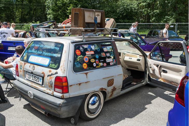 Фото №45 - Самые безумные машины фестиваля GTI Treffen