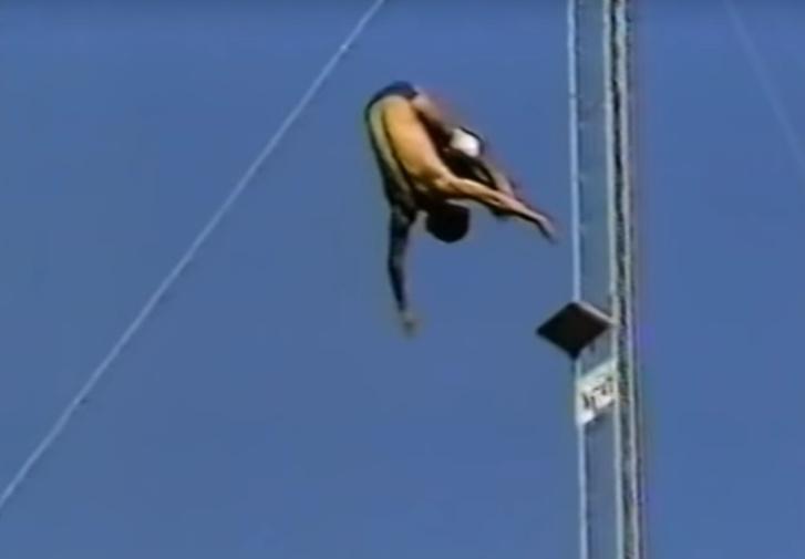 Фото №1 - Прыжок с 52-метровой высоты: история одного видео