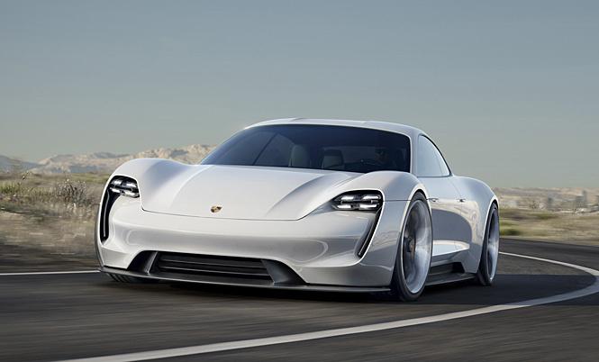 Полноценный электромобиль от Porsche