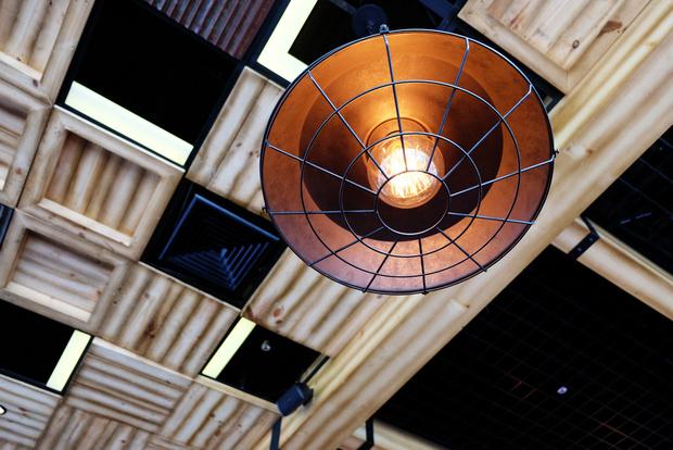 индустриальный светильник