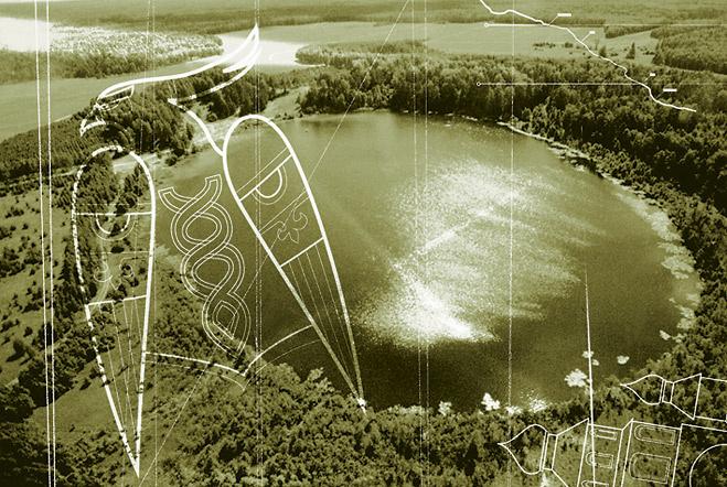 Нижегородская область. Озеро Светлояр. Китеж.