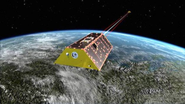 Фото №1 - NASA отчиталось об успешной стрельбе лазером в космосе