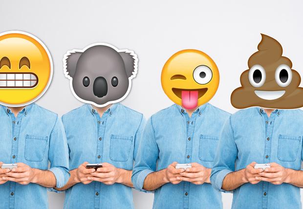 Фото №1 - Те, кто часто используют эмодзи, выглядят в глазах коллег некомпетентными работниками