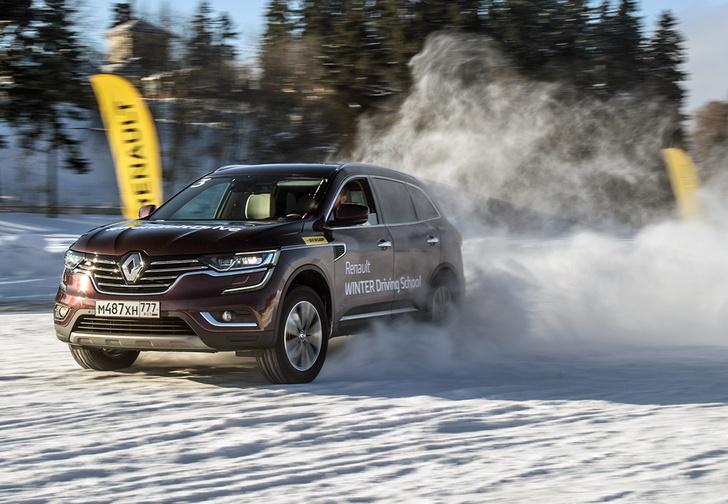 Фото №7 - Нефигурное катание: боком по льду на полноприводных Renault